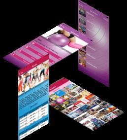fitness gym spor salonu mobil uygulama